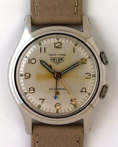History of Heuer III: 1950s | The Home of Vintage #Heuer Collectors #watch