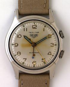 History of Heuer III: 1950s | The Home of Vintage #Heuer Collectors #watch