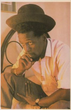 Gregory Isaacs. My parents played his music all the time when I was a kid. One of my early introductions to reggae music.