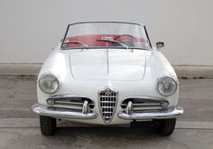 Alfa Romeo Giulietta Spider 1959 Restored
