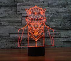 The Avengers Iron Man Deadpool 3D Led tabel lamp flash toy 2016 New SuperHero TMNT Batman 7 color visual illusion LED lights