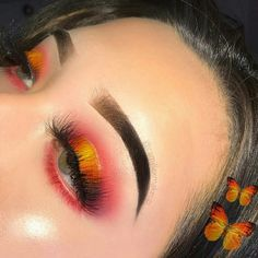 pink orange and yellow summer eyeshadow look pink orange and yellow summer eyeshadow look The post pink orange and yellow summer eyeshadow look appeared first on Pintgo. pink orange and yellow summer eyeshadow look Simple Eye Makeup, Dramatic Makeup, Cute Makeup, Glam Makeup, Skin Makeup, Makeup Inspo, Makeup Inspiration, Makeup Ideas, Easy Makeup