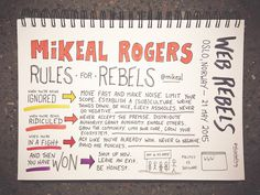 Web Rebels 2015 // Mikeal Rogers