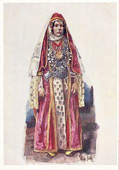 Postcard – Max Tilke – People of the Caucasus Series, 07 (… | Flickr