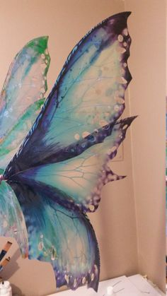 Realistic fairy wings