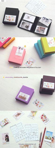 These are so freaking cute Instax Mini Album, Instax Mini 90, Instax Mini Camera, Fujifilm Instax Mini 8, Polaroid Crafts, Polaroid Ideas, Polaroid Pictures, Art Hoe Aesthetic, Scrapbooking