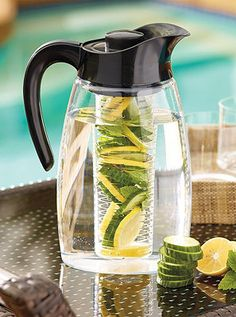 Infuse the flavor of fruit, herbs, or spices into your favorite drinks...