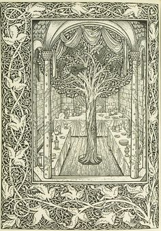 Untitled, in the book The Story of Sigurd the Volsung and the Fall of the Niblungs (Hammersmith: Kelmscott Press, 1898) - Edward Burne-Jones, Kelmscott Press, William Harcourt Hooper, William Morris, William Harcourt Hooper   FAMSF Explore the Art