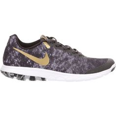 Nike Women's Flex Experience RN 6 Premium Running Shoes (Black/Metallic Gold/Anthracite/White, Size 7.5) - Women's Running Shoes at Academy Sports