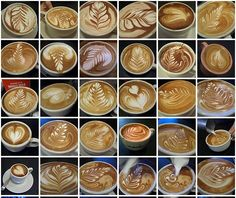 Lovely coffee art - compilation