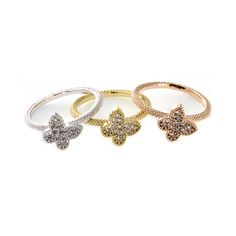 A favorite charm to bring good luck, this thin band showcases a cute little sparkly clover! Rose Gold-plated. #MORANA http://moranaonline.com/RINGS?product_id=433#sthash.6eSa2iFk.dpuf