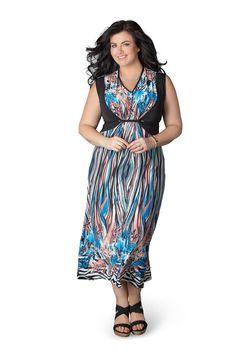 75b5bfc3c9fd4 Hattie Maxi Dress Plus size - Polly Grace Beautiful Maxi Dresses
