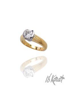 May's Engagement Ring   18Karat