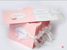 Ideas de tarjetas de invitación para Baby Shower. – moniclic