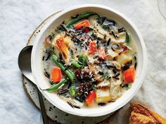 Best Soup Recipes, Chicken Soup Recipes, Healthy Soup Recipes, Weekly Recipes, Healthy Meals, Free Recipes, Easy Meals, Healthy Eating, Chicken And Wild Rice