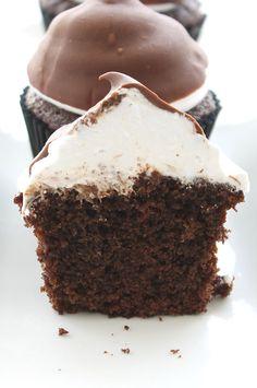 Dulce Isis: Cupcakes de Beso de Moza