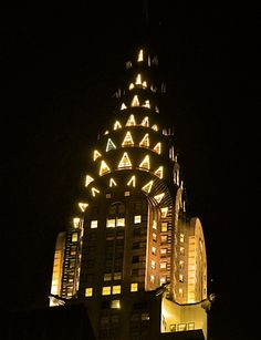 Chrysler Building at Night  by Mark Giarrusso
