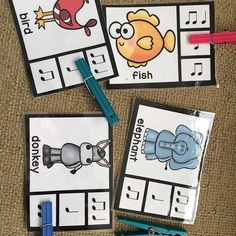 Clip it! Great for centers or small groups. via @thebulletinboardlady