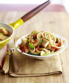Use fresh linguine for this protein-packed Lo Mein Primavera.