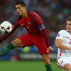 Cristiano Ronaldo shows off magic skills in Portugal's win over Poland