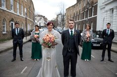 Jenny Packham's Eden Gown and Elegant Ostrich Feathers For A Glamorous London Gastro Pub Wedding   Love My Dress® UK Wedding Blog
