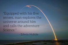 """""""Equipped with his five senses..."""" - Edwin Hubble [3000x2000][OC] #quotes #quote #inspiration #motivation #life #wisdom #quoteoftheday #success #business #leadership #love"""