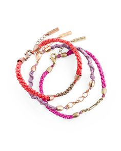 Modern Love Friendship Bracelets - JewelMint.com
