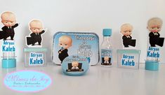 Boss Baby, Baby Birthday, Birthdays, Party, Gabriel, Apples, The Godfather, Cushion Wedding Bands, Personalized Party Favors
