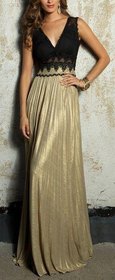 Gold Goddess Gown