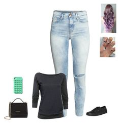 """""""Sans titre #1445"""" by harrystylesandliampayne ❤ liked on Polyvore featuring H&M, Under Armour, Vans and Givenchy"""