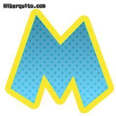 Letras de Paw Patrol abecedario para descargar gratis   Mi Barquito