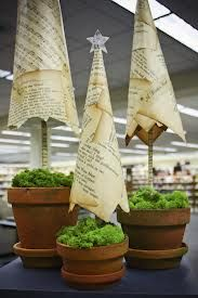 Vintage book Christmas trees, from Cecil County Public Library Blog
