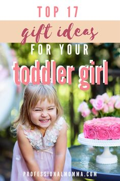 Find the best gift ideas for 2 year old girls. Don't worry, these toddler gift ideas are great for both birthdays and just because gifts. Go ahead and read this so you can buy the best gift for your 2 year old daughter. 2 Year Old Birthday, Daughter Birthday, Birthday Wishes, 2 Year Old Baby, 2 Year Old Girl, Non Toy Gifts, Love Gifts, Flower Girl Gifts, Flower Girl Dresses