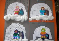 arctic unit craft idea (3) | Crafts and Worksheets for Preschool,Toddler and Kindergarten