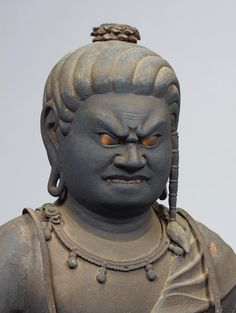 国指定 重要文化財 鎌倉時代 木造不動明王坐像 快慶作2 Japanese Buddhism, Theravada Buddhism, Buddhist Art, Japan Art, Resin Art, Sculpture Art, Religion, Statue, Face
