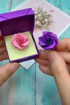 Creative ideas about paper crafts. Creative ideas about paper crafts. Instruções Origami, Paper Crafts Origami, Easy Paper Crafts, Diy Paper, Paper Crafting, Origami Videos, Origami Ring, Free Paper, Wood Crafts
