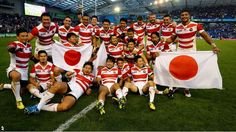 Japan beat South Africa