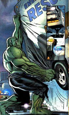 Hulk by Lee Weeks