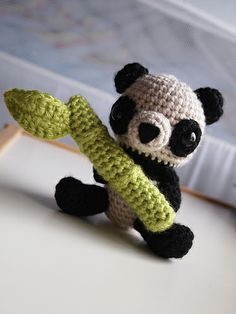Panda Buddy by Ham and Eggs Crochet