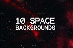 Space Backgrounds - Set I by Bakingoodies on @creativemarket