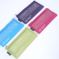 Life is beautiful travel slim mesh pouch by Dash and Dot. The Travel slim mesh pouch is a beautiful and well designed small travel pouch. Mochila Adidas, Dash And Dot, Small Zipper Pouch, Mesh Material, Bag Design, Couture, Bag Organization, Life Is Beautiful, Zip Around Wallet