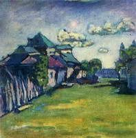 Wassily Kandinsky. Moscow Environs, 1908
