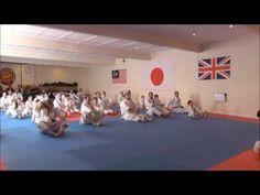 MACAM - MACAM SENI BELA DIRI: Video: Warm Up - Pemanasan Karate