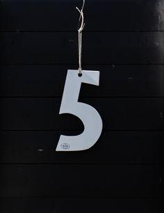 cijfer 5 van hout