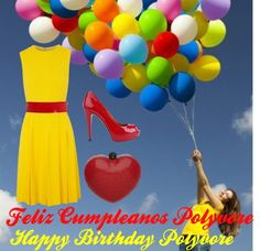"""""""Happy B-Day Polyvore"""" by fashion1psychology ❤ liked on Polyvore"""