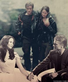 Peeta is AMAZING!!!! he looks so in love in the bottom portion..well he is:)