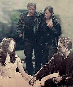 Katniss and Peeta ❤