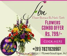 Flower Boutique - Online Flower Delivery in India: Why Should You Buy Flowers Online