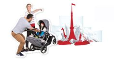 The latest really is the greatest with the new Voyager pram from phil&teds #Philandteds, #Prams, #Twins
