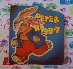 Vintage Peter Rabbit Book 1950 James & by mandtsimplyvintage, $5.00